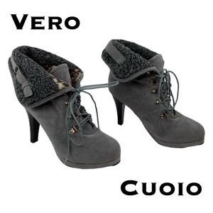 Vero Cuoio Ankle Boots Size 7